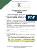 Directiva n 001-2016
