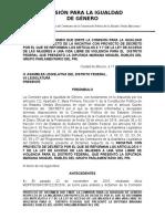 Dictamen Iniciativa Moguel-ley Acceso Mujeres Vida Libre Violencia (1) (1)
