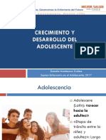 Clase Crecimiento y Desarrollo Adolescente
