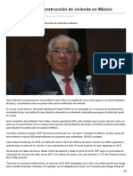 17/Mayo/2017 SHF Pilar Para La Construcción de Vivienda en México