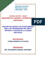 Trabajo Analisis de La Educacion en El Peru