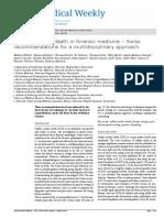 Sudden Cardiac Death in Forensic Medicine – Swiss