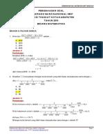 Pembahasan Soal Osk Matematika Smp 2016