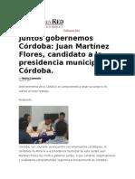 13.05.2017. JMF- Juntos Gobernemos Córdoba