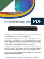 Router BrochureGD2000L