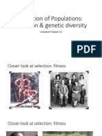 Lecture 8_Selection and Genetic Diversity