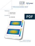 Rapport Implementation de La MEF 2D