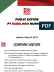 Presentasi Public Expose 2017eng