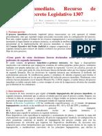 Proceso inmediato Recurso de apelación Decreto Legislativo 1307.pdf