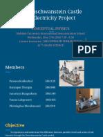 neuschwanstein castle electricity project