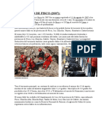 Terremoto de Pisco Thalia Completo