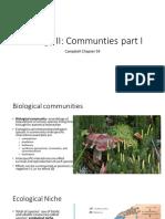Lecture 17 Communites