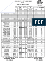 Bahria Official Rate File
