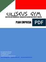 PROYECTO- Plan Empresa (Coliseus GYM)