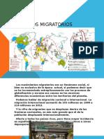 Unidad 7 Fenómenos Migratorios