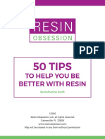 50 Tips to Help You Be Better With Resin by Katherine Swift
