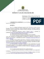Decreto 5154 23 Julho 2004 533121 Normaatualizada Pe