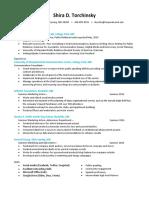 Shiradtorchinsky ResumeNEW (Portfolio)