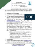 EDITAL (PROPP-RTR) n 95, de 03-11-2016.