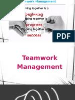 Teamwork Management