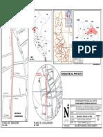 Modelo Plano de Ubicación de proyecto de construccion