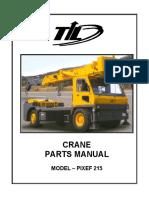 Parts Manual Aa