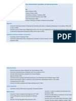 Normativa Internacional Vinculada a La Trata de Personas