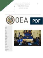 Conflicto OEA vs Venezuela