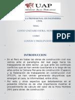 01 COSTO UNITARIO HORA HOMBRE  PRESENTACION.pptx