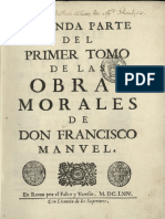 Don Francisco Manuel Obras Morales Tomo 2