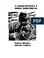 Mendez&Vallota-utopia Colectivista y Autonomia Individual[Este Rufian]