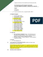 Estructura Del Plan de Trabajo Area Gam Erg