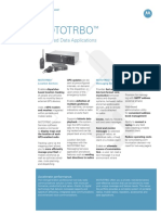 Mototrbo Data Apps Spec Sheet