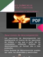 Reacciones Químicas III