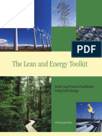 The Lean and Energy Toolkit