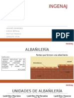 Muros de Albañilería INGENAJ