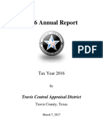 2016 Annual Report TravisCAD