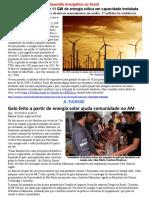 Texto Sobre Questão Energética No Brasil.2017
