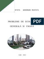 Probleme de Ecologie Generala Si Umana