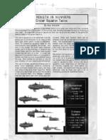 Battlefleet Gothic Tactics Cruiser Squadron