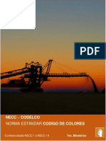 NORMA ESTANDAR CODIGO DE COLORES - CODELCO- NECC 1 AL 14