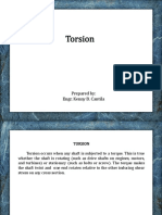 Topic 9 - Torsion