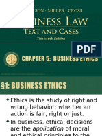 BUSM 354 Chapter 5 Business Ethics(1)