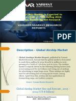 Global Airship Market
