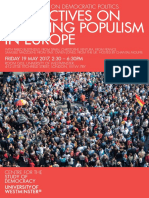 PERSPECTIVES ON LEFT-WING POPULISM IN EUROPE