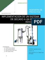 Proyecto secador rotatorio