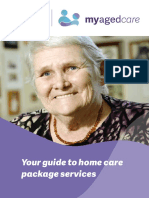 Your Guide to Home Care Package Services- Booklet