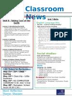 week 35- kg2 newsletter