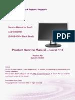 Benq G2020HD Monitor Lcd