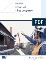 Protection of Adjoining Property